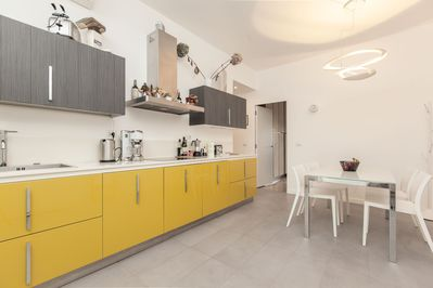 DREAM GARDEN Terrace house Living with kitchen