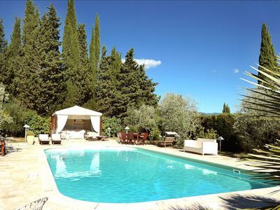 Photo for Poolside apartment on the outskirts of Florence