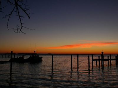 Photo for Waterfront Tilghman Island Cottage ***Newly Redecorated***