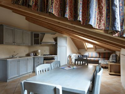 Photo for Attic Two-room apartment in the center of Torbole