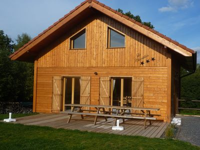 Photo for Charming Chalet Neuf 3 stars, warm, all wood