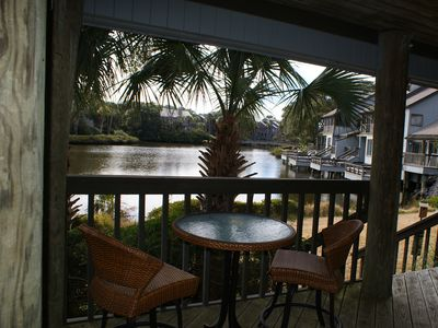 Photo for Georgeous Views! Walkout first floor lagoon villa. Pet friendly.