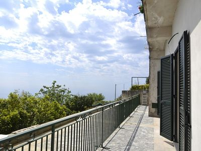 Photo for Villa Pierina A: A modern and graceful apartment that is part of a villa which faces the sun and the sea, with Free WI-FI.