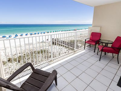 "Photo for ""Gulf Side Unit 402"" Gorgeous Gulf Front Condo!"
