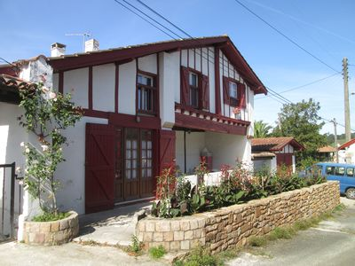 Photo for Basque coast near St Jean de Luz charming house, sea, mountain, traditions