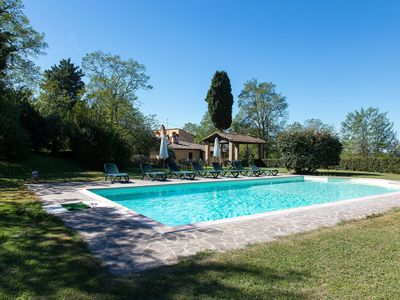 Photo for Spacious Farmhouse in Ghizzano Italy with Pool