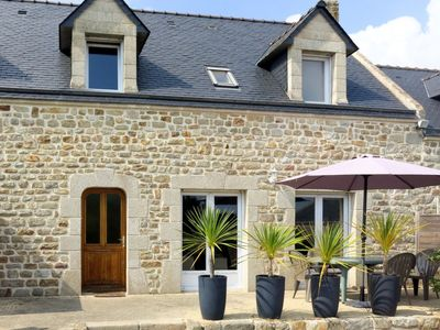 Photo for Vacation home Tazie (PHM301) in Plouhinec Morbihan - 6 persons, 3 bedrooms