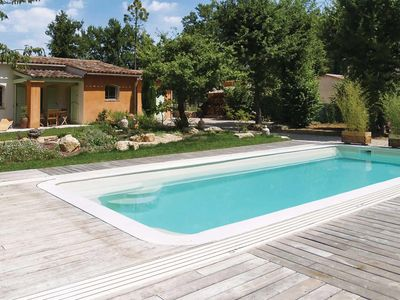Photo for Bright 2 bed villa with private heated pool