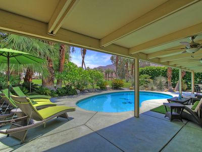 Photo for REDUCED NOV. 2018 Luxurious Mid-Century Modern Home w/Private Pool, 3 BR, 4 BA