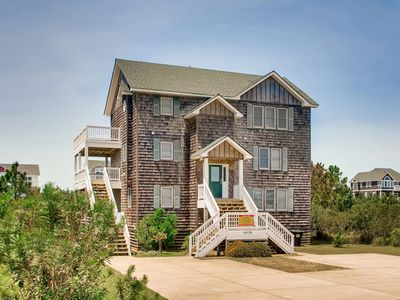 Photo for Pet-Friendly! Soundside w/ Pool, Hot Tub, Game Rm, Cmty Sound Access & Boat Ramp