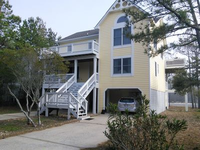 Photo for Pet Friendly 5 Bedroom Family Fun - 1000 feet to PRIVATE ACCESS Beach