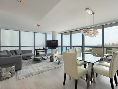 Photo for Perfect Getaway  5 Star luxurious 2br/2br apartment Ocean and City view