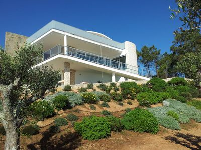 Photo for Superb design villa that boasts a panoramic view over the Portuguese countryside
