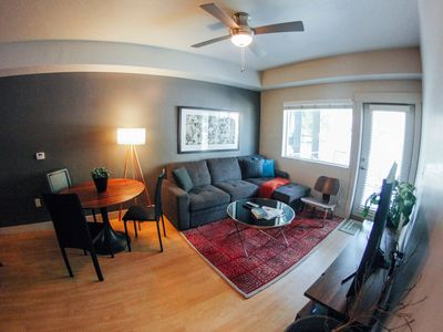 Photo for Downtown SLC 2BR +2BA - Hot Tub, Views & Roof Deck . 302