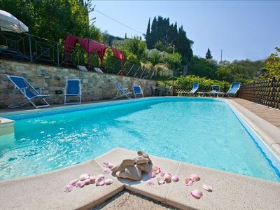 The new eco pool  - villa nuba  residence holiday  rental in Umbria, Perugia