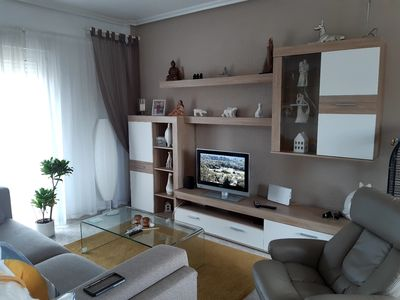 Photo for 2 bed apt in Playa Flamenca, 400 mtrs to the beach, central location.