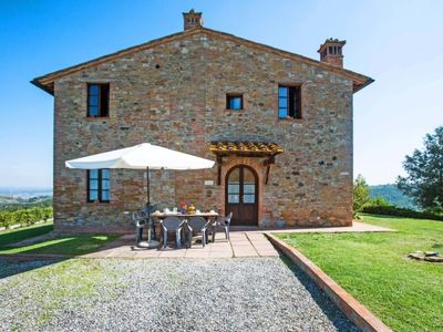 Photo for Apartment Michelangelo in Montaione - 8 persons, 3 bedrooms