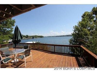 Photo for Lake Front charmer with main channel views!