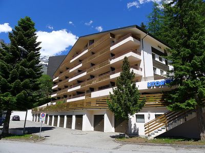 Photo for Apartment in the center of Leukerbad with Internet, Lift, Parking, Balcony (49691)