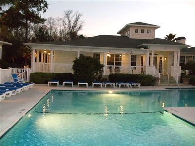 Photo for Barnes Plantation, Magical St Simon's Pool Gated Monthly Weekly FLETC