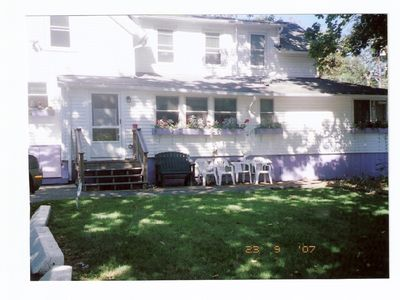 Photo for Within Walking Distance to Town, Beach & Parks, Enclosed yard with a new deck,