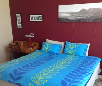 Photo for Apartment overlooking the beach and direct views of the Cape of Good Hope