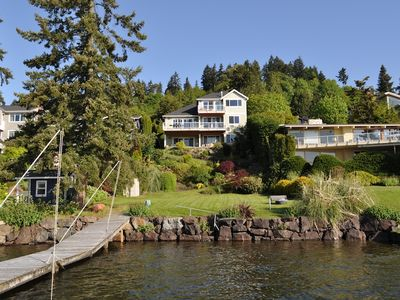 Photo for Mercer Island Waterfront Villa