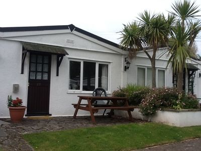 Photo for Holiday Bungalow, Galmpton, Nr Brixham. The, Palms. Close to Beach. Dog Friendly