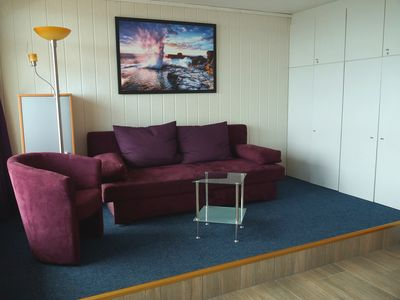 Photo for 213 - 3-room apartment Flachbauten holiday park - 213 -buntes holiday home on the beach with views of the Baltic Sea