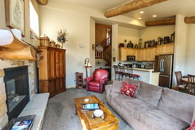 Open floor plan great for families and entertaining