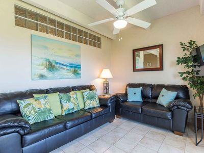 Photo for Aquarius 206 - Second Floor Condo in Premier Location, Breathtaking Ocean Views from Private Balcony, Short Distance from White Sandy Beach, The Only Thing Missing is You!