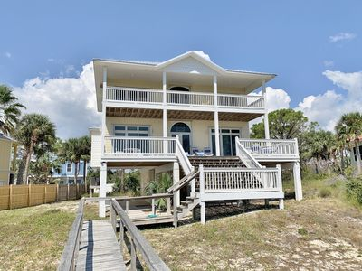 Photo for Morning Glory - 4 Bed / 3.5 Bath Gulf Front Home in Cape San Blas
