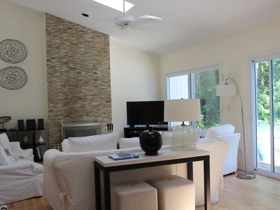 Photo for Modern Bright Contemporary w/ Heated Pool, Lg Yard, Outdoor Jacuzzi & Shower