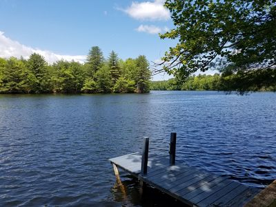 Rustic cottage on the water - private and pet friendly!