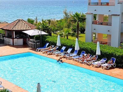 Photo for 3 bedroom Apartment, sleeps 8 in San-Nicolao with Pool, Air Con and WiFi