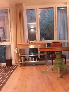 Photo for Rooms in bright green apartment just outside Milan