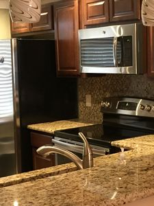 Kitchen with granite!