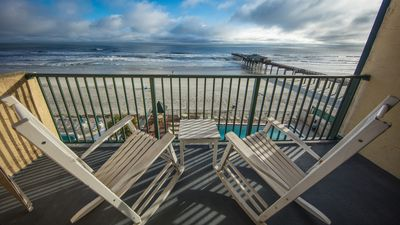 Photo for Luxury Corner Direct Ocean Front Condo - Prices reduced for Fall Season