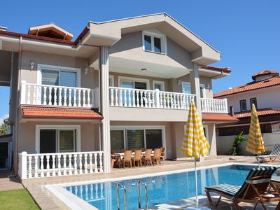 Photo for 2018 BUILT SUPERB PRIVATE MAGNIFICENT VILLA RIGHT IN CENTRE OF DALYAN GULPINAR!!