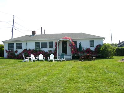 Photo for Charming Cottage with Water View Located at Picturesque Sakonnet Point