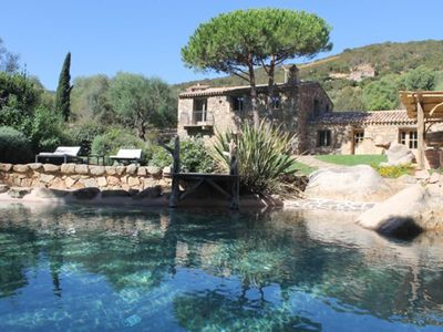 Photo for Stunning traditional Corsican stone villa - 5 mins from beautiful sandy beach