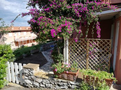 Photo for Apartment with small garden in Capo d'Arco Elba Island