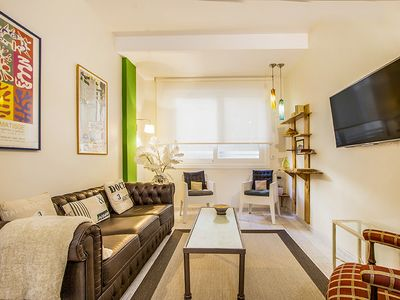 Photo for BETI JAI - Excellent apartment just 80 meters from the Zurriola Beach