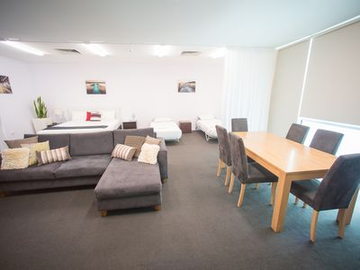 Photo for Our venue offers an apartment-style Loft Suite, to accommodate up to 5 people.