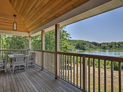 Photo for NEW! Waterfront Southhold Home w/ Sauna & Dock!