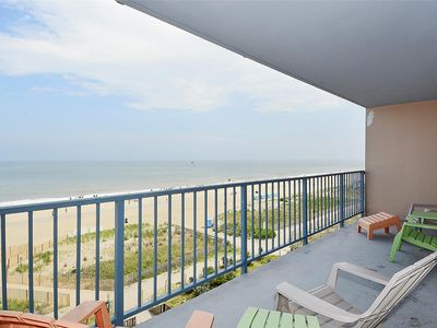 Photo for FREE DAILY ACTIVITIES!!!  OCEAN VIEWS!!! LINENS INCLUDED Beautiful 3 BR/2 Bath Oceanfront Unit!