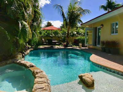 Designer Renovated & Furnished Magical Pool House in Coral Ridge, Ft. Lauderdale