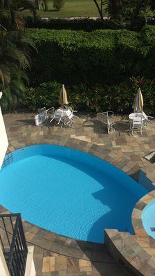Photo for Apt. with swimming pool, 200m from Enseada-Ubatuba Beach- for 8 people