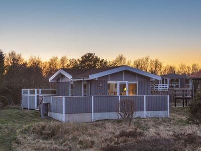 Photo for Lovely cottage for 6 persons, sea view, in the dunes at Grenaa beach