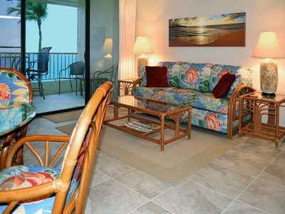 Photo for Prime Oceanfront Kona Reef Vacation Condo - D Building